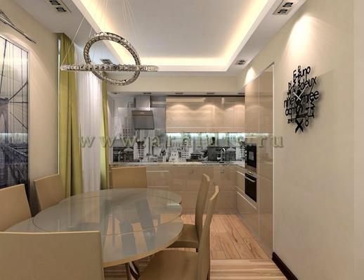 АрхиДис | дизайн кухни в современном стиле