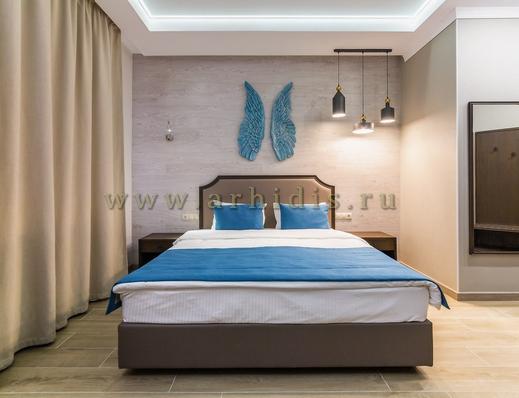 дизайн и ремонт комнаты в отеле