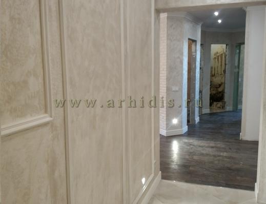АрхиДис | дизайн и ремонт прихожей в классическом стиле