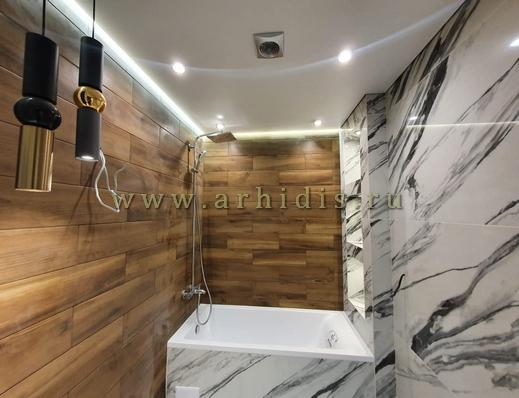дизайн ванной под ключ